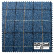 HARRIS TWEED TABERT SKY SWATCHblock