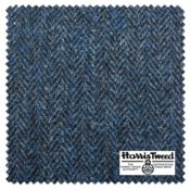 HARRIS TWEED VINTAGE BLUE swatchblock